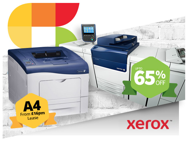 xerox up to 65 percent off copiers